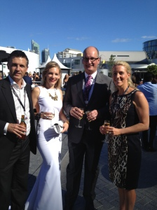 Aria photo with Kochie