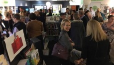 Book launch crowd