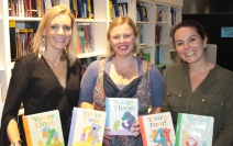 AAPS team, Catherine Pelosi, Author and Alex Adsett, Agent.